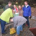 Apfelsaftpressen